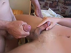 Cumming male shoots his wad