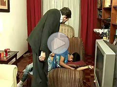 Dad boy porn video, 4 clips